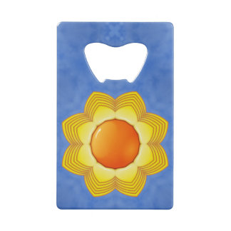 Sunny Day Kaleidoscope    Credit Card Openers Credit Card Bottle Opener