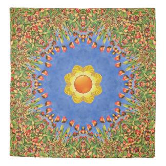 Sunny Day Kaleidoscope    Duvet Covers
