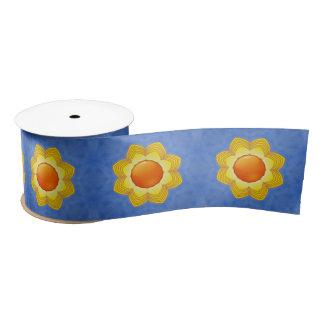 "Sunny Day Kaleidoscope    Ribbon. 1.5"" or 3"" Satin Ribbon"