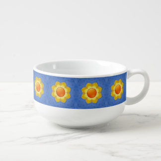 Sunny Day Kaleidoscope    Soup Mugs