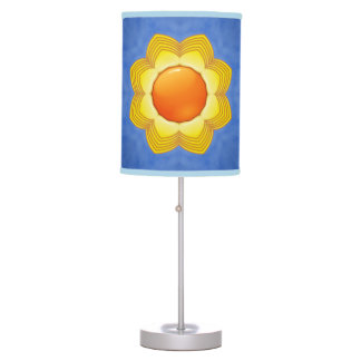 Sunny Day  Kaleidoscope Table Lamp