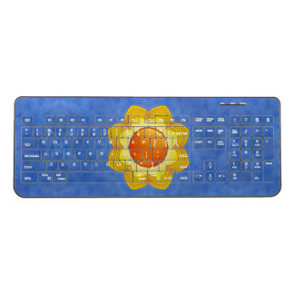 Sunny Day Kaleidoscope   Wireless Keyboard