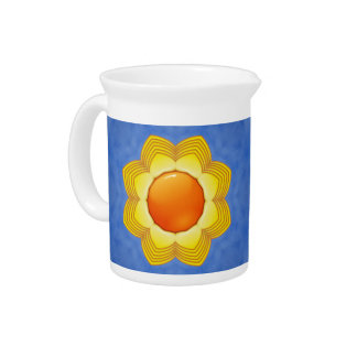 Sunny Day Porcelain Pitchers