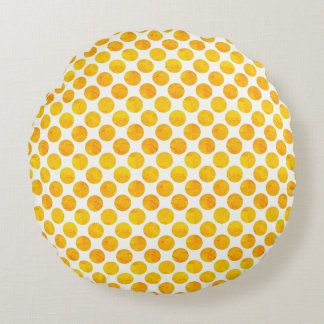 Sunny Day Round Pillow