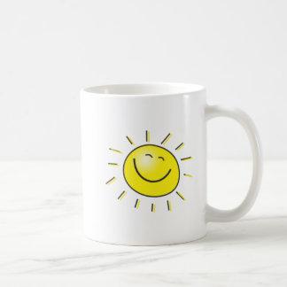 Sunny day, smiling sun, Day to smile! Coffee Mug