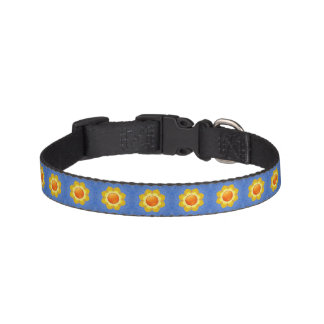 Sunny Day  Tiled Dog Collars