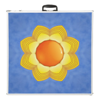 """Sunny Day  Vintage Kaleidoscope  96""""  Pong Table"""