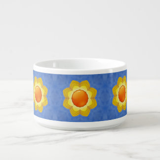 Sunny Day Vintage Kaleidoscope Chili Bowls