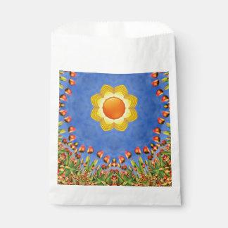 Sunny Day Vintage Kaleidoscope   Favor Bags