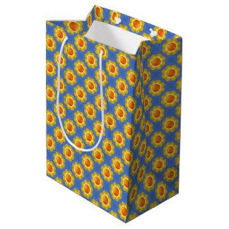 Sunny Day Vintage Kaleidoscope Medium Gift Bag