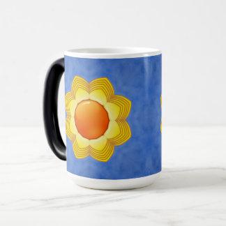 Sunny Day Vintage Kaleidoscope Morphing Mug