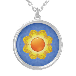 Sunny Day Vintage Kaleidoscope    Necklaces