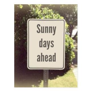 Sunny Days Postcard