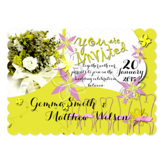 Sunny Days Wedding Invitation