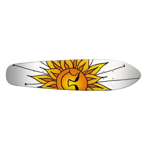 Sunny Daze Skateboard