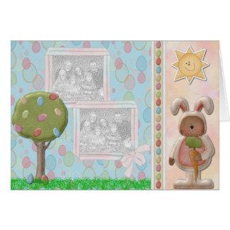 Sunny Easter Double Photo Frame Card TBA 3/18/09