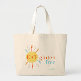 Sunny Eat Gluten Free Large Tote Bag