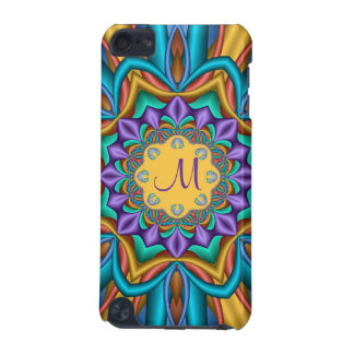 Sunny fantasy flower and Monogram iPod Touch 5G Case