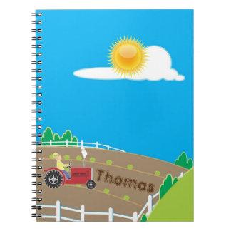 Sunny Farm Notebook