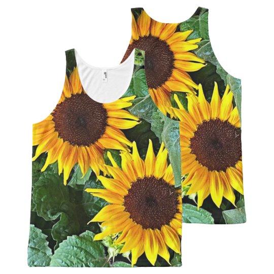 Sunny Flowers Tank Top