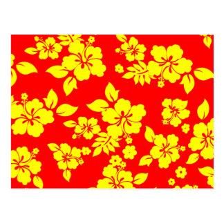 Sunny Hawaiian Postcard