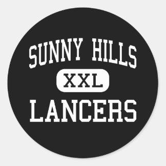 Sunny Hills - Lancers - High - Fullerton Classic Round Sticker