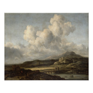Sunny Landscape Poster