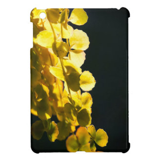 Sunny leaves case for the iPad mini