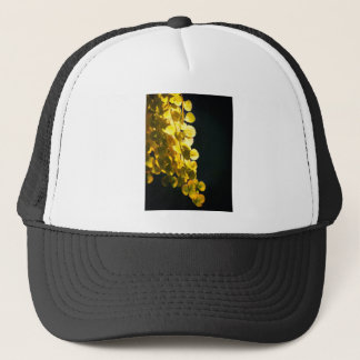 Sunny leaves trucker hat