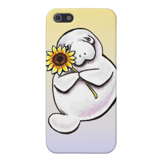 Sunny Manatee Off-Leash Art™ Case For iPhone 5/5S