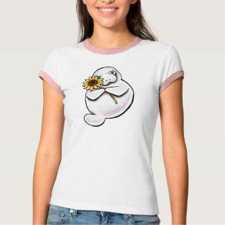 Sunny Manatee Off-Leash Art™ T-Shirt