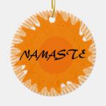 Sunny Namaste - Yoga Ornament