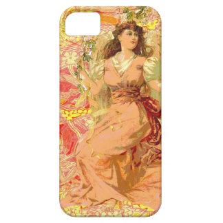 Sunny Orange Angel iPhone 5 Covers