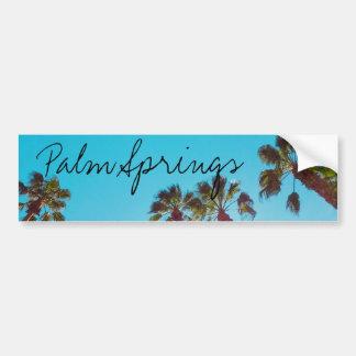 Sunny Palm Springs Bumper Sticker