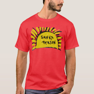 Sunny Person Sun Rays T-Shirt Top