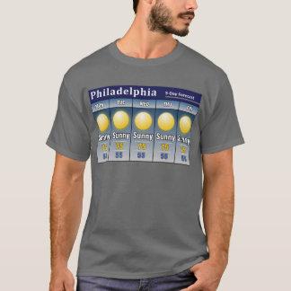 Sunny Philadelphia Forecast T-Shirt