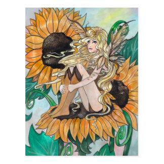"""Sunny"" postcard"
