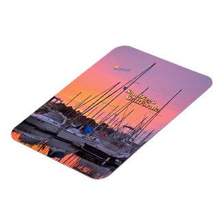 Sunny San Diego, California Rectangular Photo Magnet