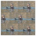 Sunny Sea Otter Fabric