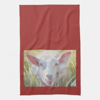 Sunny Sheep Kitchen Towel