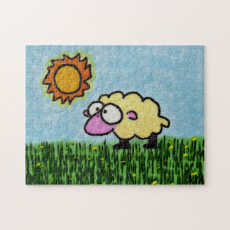 Sunny Sheep Puzzle