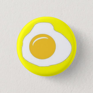 Sunny Side Up 1 Inch Round Button