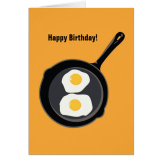 Sunny Side Up Birthday Card
