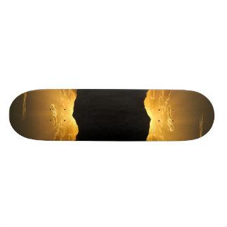 sunny side up skate board decks