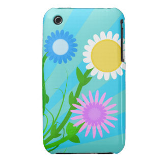 Sunny Spring Flowers iPhone 3/3GS Case