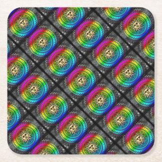 Sunny Square Paper Coaster