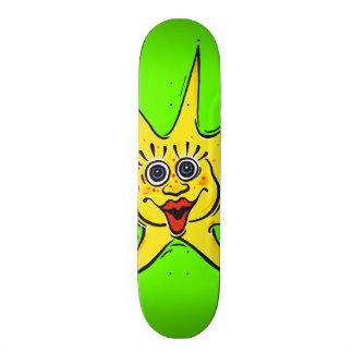 sunny star skateboard deck