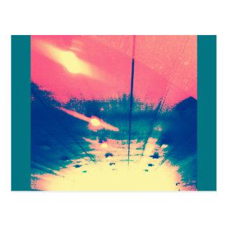 Sunny Strawberry Underground Postcard