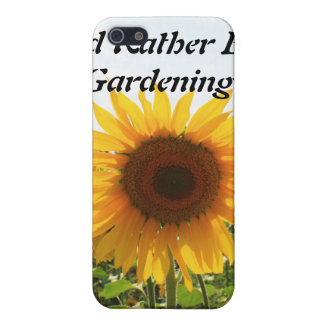 Sunny Sunflower Case For The iPhone 5