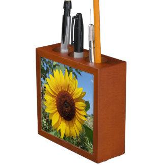 Sunny Sunflower Desk Organizer